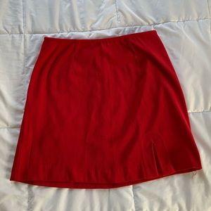 Vintage Red Mini Skirt